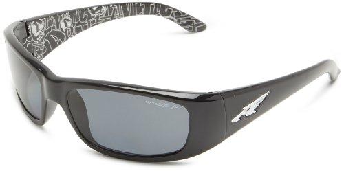 Arnette Herren 0AN4178 214881 59 Sonnenbrille, Schwarz (Black/Polargrey),