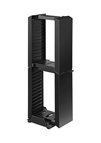Feicuan Multifunctional Game Disk Stand with Headset Holder für PS4 PS4 Slim/Pro Xbox One Slim (Xbox Tower Gaming One)