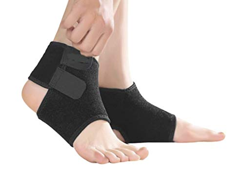 Kids Children Compression Ankle Brace Support Sleeve Foot Stabilizer Ankle Guard Pads for Arthritic Pain Relief   Injury Rehabilitation  Elastic Ankle Protector for Running  Basketball  Football 1 Pair