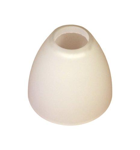 Lampenglas Lampenschirm G9 opalfarbig weiss G8819-01 Neu -