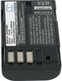 Batterie pour PENTAX K5, 7.4V, 1600mAh, Li-ion