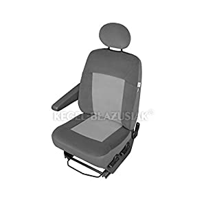 ZentimeX Z933200 Sitzbezüge Fahrersitz / Einzelsitz Armlehne rechts Stoff Airbag-Kompatibel
