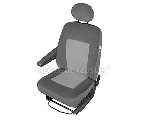 Preisvergleich Produktbild ZentimeX Z938645 Sitzbezüge Fahrersitz / Einzelsitz Armlehne rechts Stoff Airbag-Kompatibel TÜV-geprüft