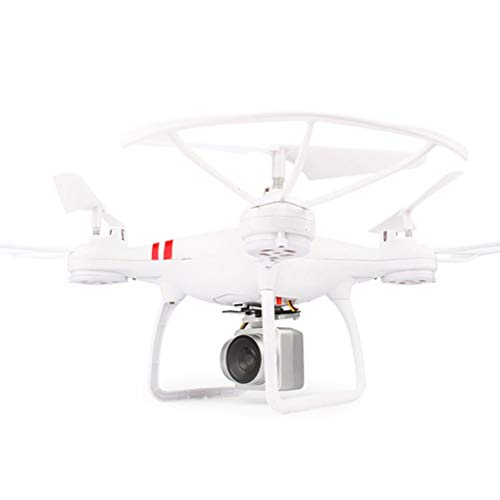 KY101 RC Quadcopter Helicopter Selfie Drone with 1080p 2MP WiFi FPV HD Camera One Key Fly Return Remote Control Without Battery (White)