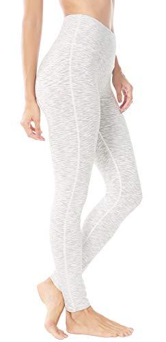 Queenie Ke Damen Power Flex Yoga Hosen Training Laufende Leggings Farbe Weiß Größe L
