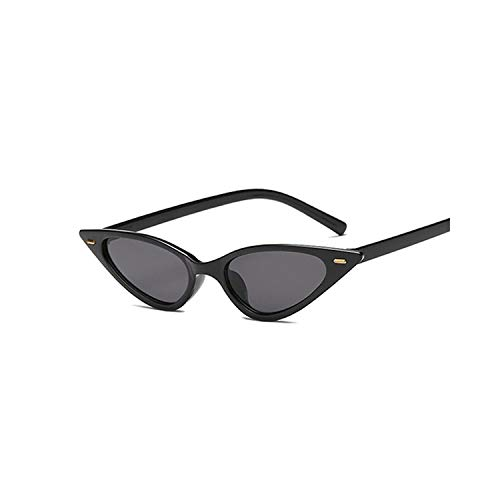 Sportbrillen, Angeln Golfbrille,Women Cat Eye Sunglasses Small Size Brand Designer Fashion Retro Ladies Sun Glasses Female Black Purple Red Glasses UV400 BlackGray