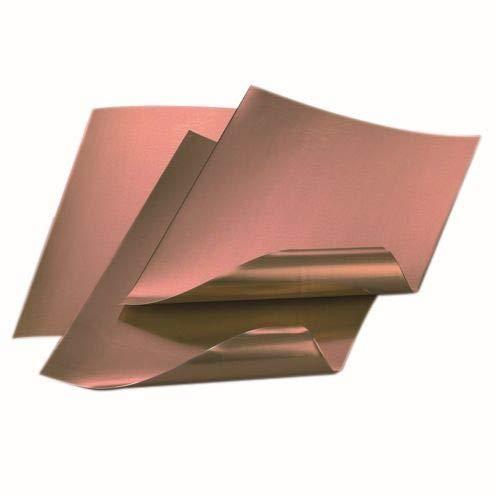 0,2 mm dick 100 mm x 1000 mm hochreines Kupfer Rolle Kupferfolie