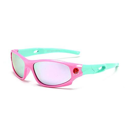 Wang-RX Sport Sonnenbrillen Kinder Polarisierte Kinder Sonnenbrille Mädchen Junge Outdoor Brillen Flexible Brillen UV400