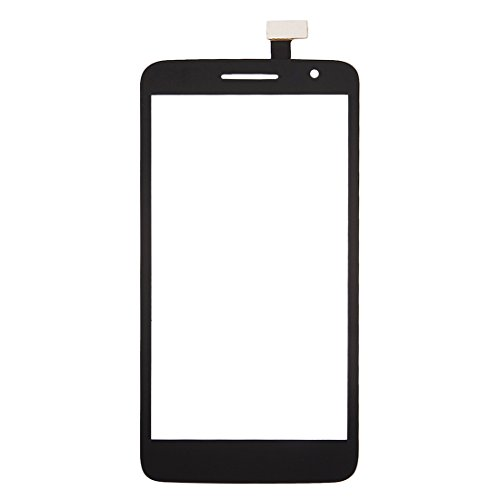 PARTIRICAMBIOCELLU Cellulari di Ricambio Touch Panel per Alcatel One Touch Scribe HD / 8008 (Nero) (Colore : Black)