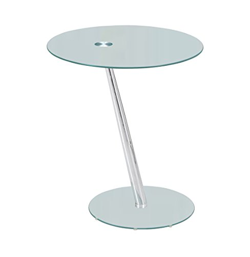 Premier AV café/Table d'appoint, Verre, 50 x 50 x 58 cm