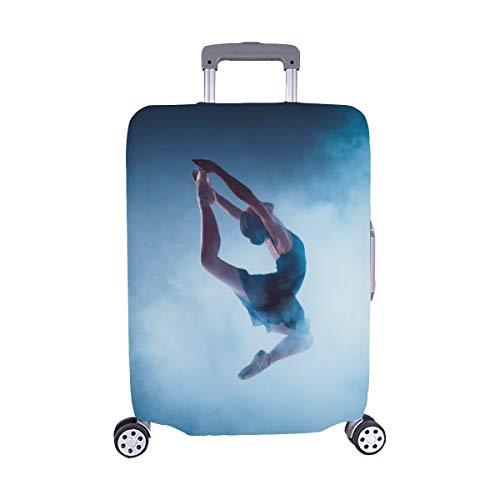 Eine Junge Elegante Balletttänzerin Muster Spandex Trolley Reisegepäck Beschützer Koffer Cover 28,5 X 20,5 Zoll