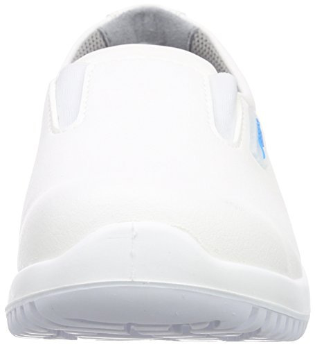 PROTEQSicherheitsschuhe uni6 1740 Slipper  S2 küchengeeignet Stahlkappe - Scarpe Antinfortunistiche Unisex – Adulto Bianco (Bianco)