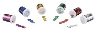500231 Salzstreuer Metallösen mit Pailletten, 6-er Set Spielzeug