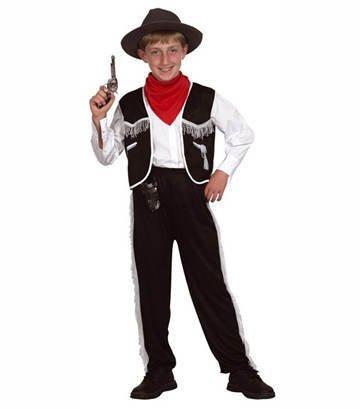 Cowboy Kostüme Western Hut (Patry-Partners 86864 Kinder-Kostüm Cowboy und Hut, 4-6 Jahre)