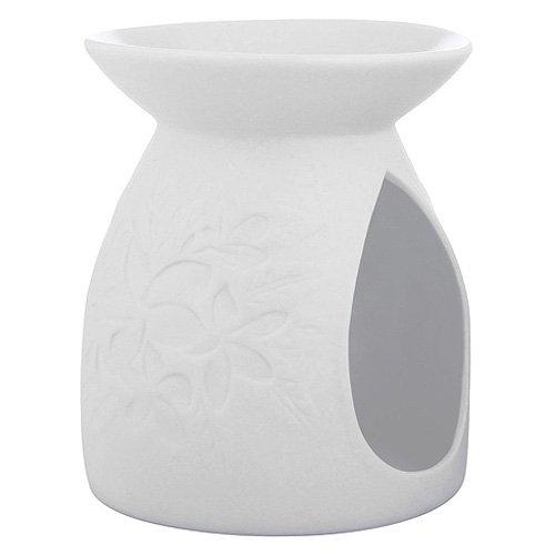 Yankee candle 1521531 Pastel Hue Bruciatore per tart, Ceramica, Floreale, 11.4x11.3x12.9 cm