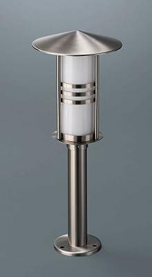 162294755.1440 Energiespar Leuchte Edelstahl Opalglas von massive leuchten bei Lampenhans.de
