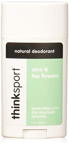 Opas Deodorant (Think, Thinksport, Natural Deodorant, Aloe & Tea Flowers, 2.9 oz (85.8 ml))