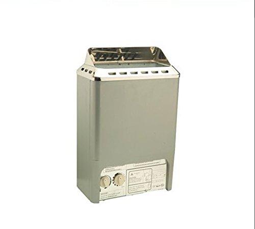 Gowe Saunaheizer mit digitaler Wandsteuerung, 3 kW/220 V-240 V/50 Hz-4,5 kW, CE-zertifiziert