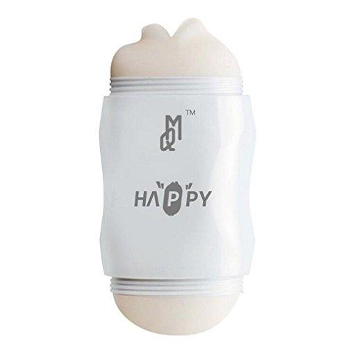 SMCOOL 3D Realistischer Silikon Masturbator Cup Masturbation Männliche Masturbation Freisprech-Cup Portable zerlegen mündliche Yin interaktive glücklich Cup Adult Lieferungen - 2