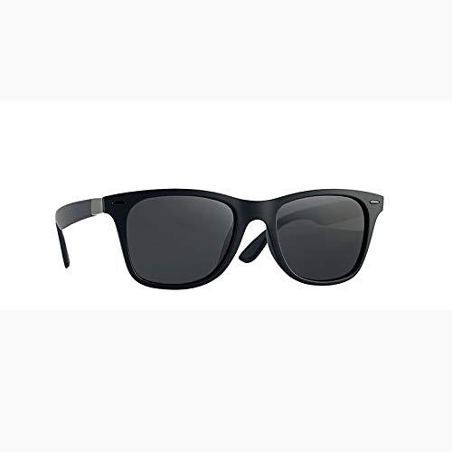 ZHAO YELONG Retro Sonnenbrille-Art- Und Weiseklassiker-Schutzbrillen-Bewegungs-Gläser (Color : Black)