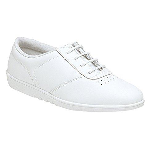 boulevard-womens-ladies-treble-fuller-fitting-oxford-shoes-7-uk-white