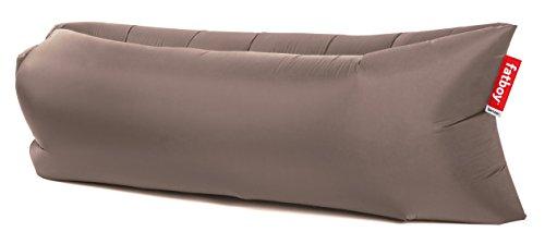 lamzac Fatboy 2.0 Luftsofa Taupe | Aufblasbares Sofa/Liege, Sitzsack mit Luft gefüllt | Outdoor geeignet | 200 x 90 x 50 cm -