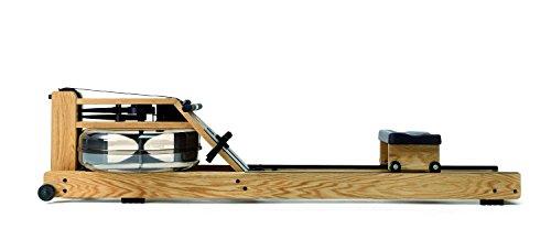 Water Rower Eiche Rudergerät mit Wasserwiederstand, 230s4