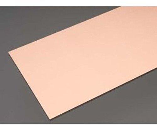 K&S Metal 000277 - Kupferplatte, 101.6 x 254 mm, 0.016 Zoll dick, 6 x 1 Stück
