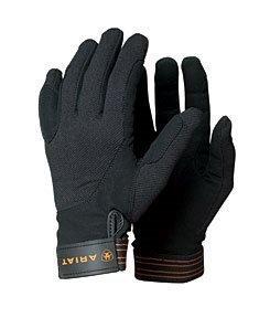 ARIAT TEK Grip REIT Handschuhe, Dunkelbraun, 7.5