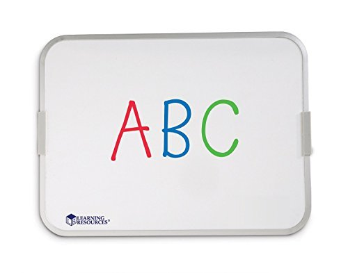 Magnetic Whiteboard for Children - Double Sided Dry Wipe Surface by Learning Resources