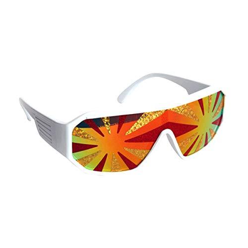 Pro Wrestler Kostüm - Macho Man Lava Starburst Sunglasses