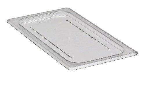 Cambro 30CWC135 Clear Camwear 1/3 Size Flat Food Pan Cover by Cambro Camwear Food Pan Cover