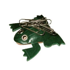 Grenouille en cuir 3D Animal/poissons **VANCA porte fait à la main au Japon