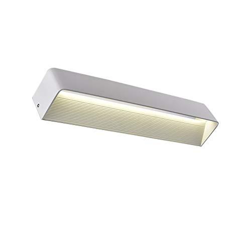 BAIJJ Nachtwandleuchte Modern Minimalist Rectangle Style für Gang Badezimmer Schlafzimmer Wand Hintergrund Lampe A ++ (Größe: White Large 15W LED)