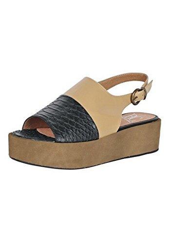 Migliori Connessioni Sandalette Ladies Croco Ottica Natura