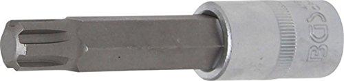 BGS 4168 Douille à embouts RIBE R14 x 100mm, Argent/gris