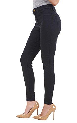 Ex Highstreet - Jeans spécial grossesse - Femme Bleu noir Taille Unique Noir