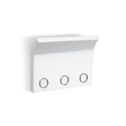 Umbra 318200-660 Magnetter Porte Lettres Vide Poche Blanc Laque