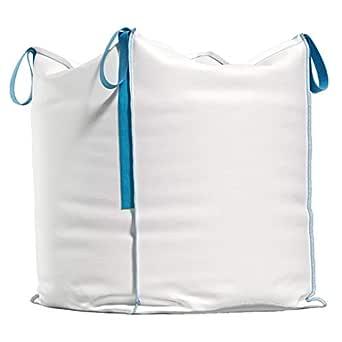 Traglast bis zu 1000kg Big Bags f/ür Bauschutt 90x90x90 cm 5er-Pack Big Bag f/ür 1 Tonne