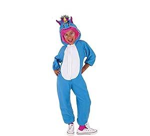 Rubies - Disfraz de unicornio para niño o niña, turquesa, 5-7 años (Rubies S8429)