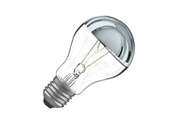 ampoule calotte argent e e27 100w luminaires et eclairage. Black Bedroom Furniture Sets. Home Design Ideas