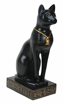 Egyptian Bastet Cat Collectible Figurine Statue Figure Sculpture Egypt by Summit