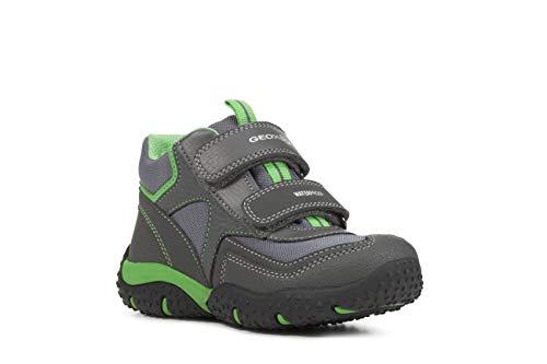 Geox Niños Zapatillas Baltic Boy WPF, Chico Calzado Deportivo,Bota de Tobillo de Zapatilla,Corte Medio,Transpirable,DK...