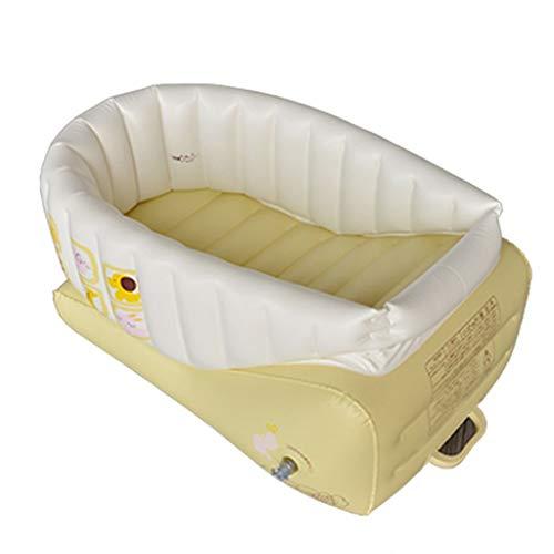 Bathtubs Bañeras inflables Bebes Bañera Inflable, Aislamiento Plegable de la Tina del bebé los 55CM...