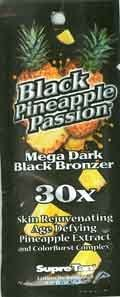 Supre Lot of 5 Black Pineapple Passion Tanning Lotion Packets