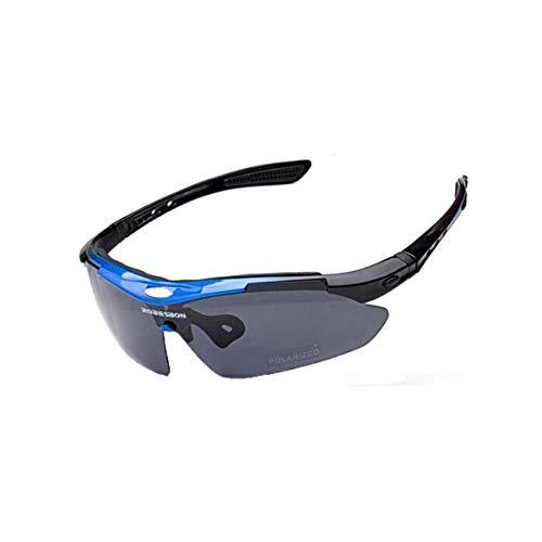 CHUJIAN Sonnenbrillen, Radsportbrillen, Winddichte Brillen, Fahrrad-Outdoor-Sportarten, HD Mountain Bike Night polarisierte Sonnenbrillen, hohe Qualität, Hohe Qualität - das Beste Gesch