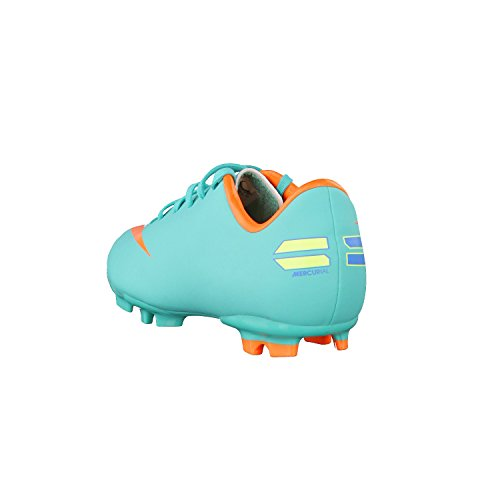 Nike Junior Mercurial Victory III base fissa calcio stivali Aqua/Orange