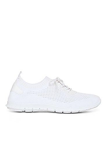 Vissteme Sneakers Mesh Weiß -