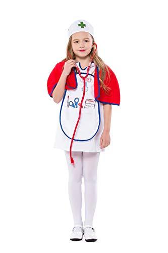 VENI MASEE Kid's Arzt/Tierarzt Halloween Cosplay ()