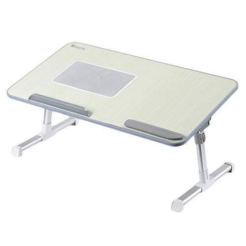 t mit Klapp-Lesetisch-Schlafsaalbett mit verstellbarem tragbarem kleinem Tisch (Farbe: Grau) ()